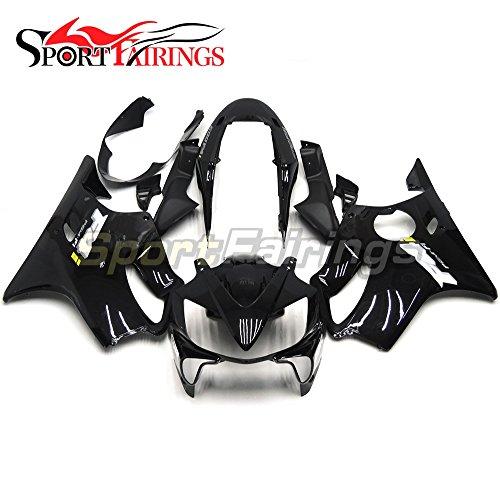 Sportfairings Gloss Black Injection ABS Plastic Fairing Kit For Honda CBR600 F4i 2004 2005 2006 2007 Sportbike Cowlings