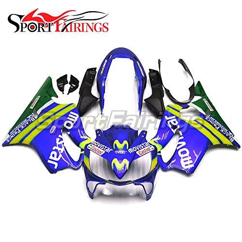 Sportfairings Motorbike Injection ABS Plastic Blue Green Yellow Fairings For Honda CBR600 F4i 2004 2005 2006 2007 Body Kits