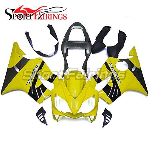 Sportfairings Yellow Black Injection ABS Plastic Full Fairing Kit For Honda CBR600 F4i 01-03 Year 2001 2002 2003 Motorcycle Fairings