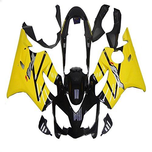 Yellow Black Fairing Kit for Honda 2004 2005 2006 2007 CBR600 F4I Bodywork Plastic