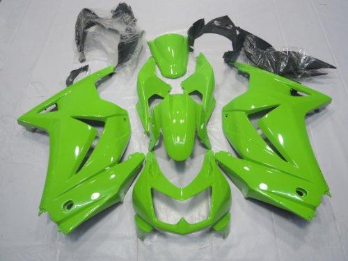 ZXMOTO K0208GRN ABS Motorcycle bodywork Fairing Kit for Kawasaki NINJA EX250 2008 2009 2010 2011 2012 Green - Pieceskit 15