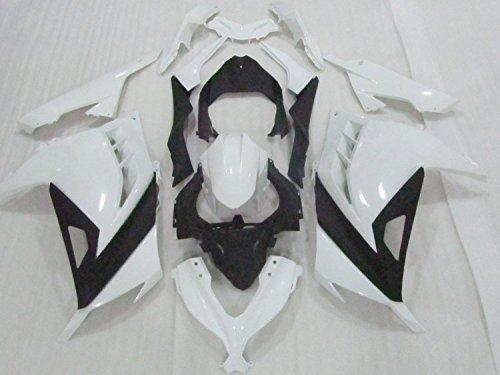 ZXMOTO K0313-UNP - Fairing Kit for 13 14 Kawasaki NINJA 300 2013 - Unpainted - Pieceskit 17