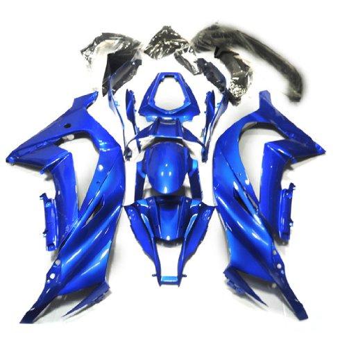 ZXMOTO K1011BLU Motorcycle Bodywork Fairing Kit for Kawasaki Ninja ZX-10R 2011 2012 2013 Blue - Pieceskit 19