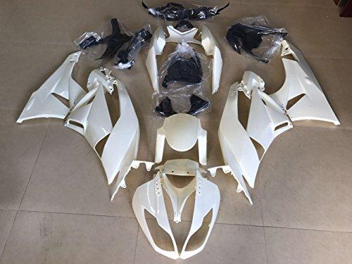 ZXMOTO Unpainted Fairing Kit for Kawasaki NINJA ZX-6R 2009 2010 2011 2012