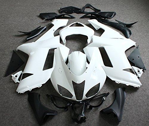 ZXMOTO Unpainted Fairing Kit for Kawasaki Ninja 636 ZX-6R 2007-2008