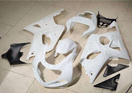 Unpainted ABS Fairing Set Body For SUZUKI GSXR1000 GSXR 1000 2000-2002 2001 K1