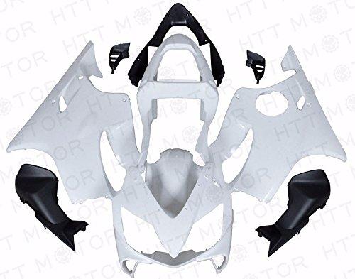 Unpainted White ABS Fairing Bodywork Kits For Honda CBR600 F4I 2001-2003 2002 02