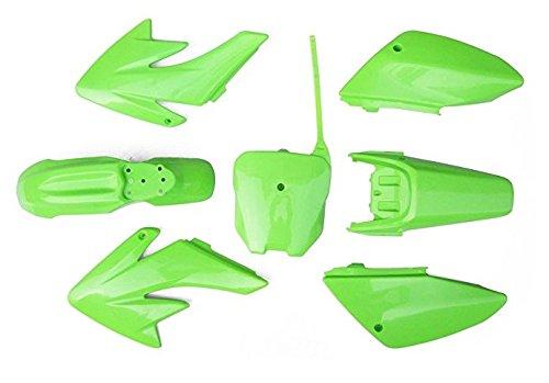 GSM - Dirt Pit Bike Apollo 007 Fairings Plastic Body Fairing Kit Parts Apollo 007 - Green