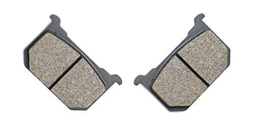 CNBK Front Left Brake Pad Semi Metallic fit KAWASAKI Street Bike KZ550 KZ 550 D1 H1 H2 81 82 83 1981 1982 1983 1 Pair2 Pads
