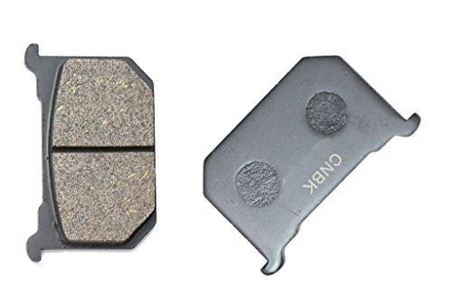 CNBK Front Right Brake Shoe Pads Semi-Metallic fit KAWASAKI Street Bike Z1000 Z 1000 MK2 KZT00A B233 0 79 80 1979 1980 1 Pair2 Pads