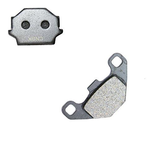 CNBK Rear Brake Shoe Pads Carbon for KAWASAKI Street Bike KLR650 KLR 650 KL650C E192 610001000 99 00 01 02 03 04 05 1999 2000 2001 2002 2003 2004 2005 1 Pair2 Pads