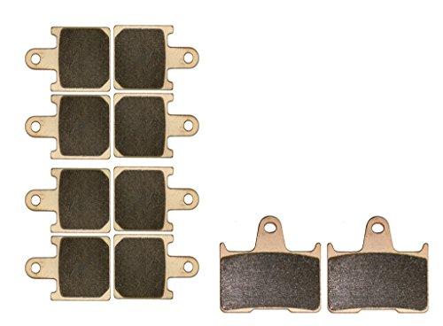 CNBK Sintered HH Brake Shoe Pads Set fit KAWASAKI Street Bike GTR1400 GTR 1400 cc 1400cc ZG 1400A8F 2007 2008 2009 2010 2011 2012 2013 2014 2015 07 08 09 10 11 12 13 14 15 10 Pads