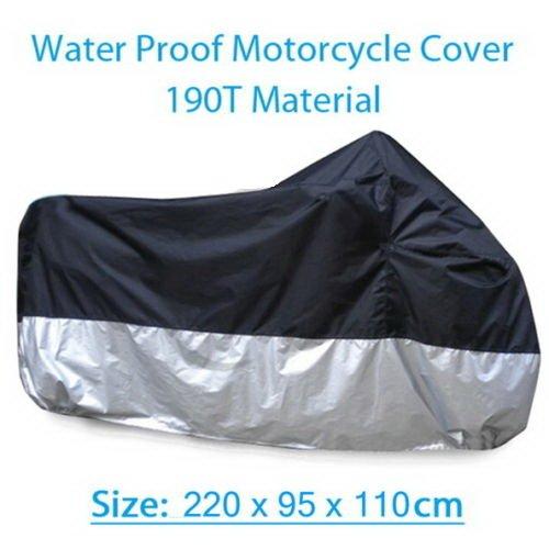 Waterproof Motorcycle Cover For Kawasaki Ninja EX250 ZZR-250 ZX-12R ZXR250 ZX-6R