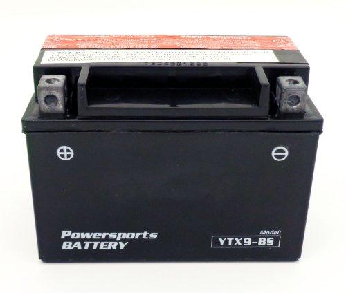 YTX9-BS 12v Motorcycle Battery fits KAWASAKI Ninja EX250 250R ZX-6R ZX600 KZ750-L ZX-7RR ZX-9R