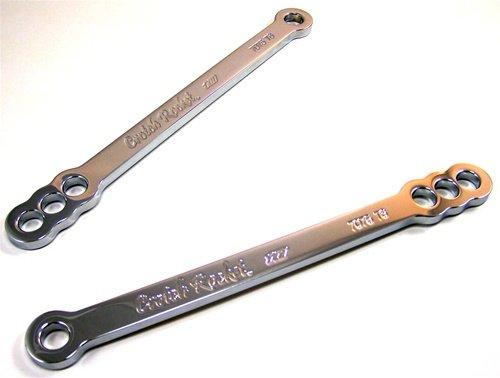 Yana Shiki CA2941 125 and 25 Drop Triple Chromed Lowering Link for Kawasaki Ninja EX250