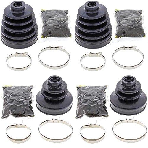 Complete Rear Inner Outer CV Boot Repair Kit for Kawasaki TERYX 750 4X4 2008-2009 All Balls