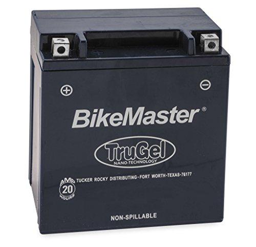 New BikeMaster TruGel Motorcycle Battery - 2006-2016 Kawasaki ZZR1400 Ninja ZX-14R