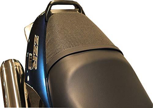 TRIBOSEAT Kawasaki ZZR1400 2006-2017 Anti Slip Motorcycle Passenger SEAT Cover Accessory Black