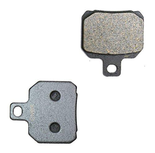 CNBK Rear Brake Pad Semi-Metallic for MOTO-MORINI Street Bike MM3 1187 07 07 2007 1 Pair2 Pads