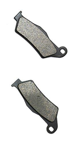 CNBK Rear Brake Pads Semi Met for MOTO-MORINI Street Bike 1200 Granferro 10 11 12 13 14 15 2010 2011 2012 2013 2014 2015 1 Pair2 Pads