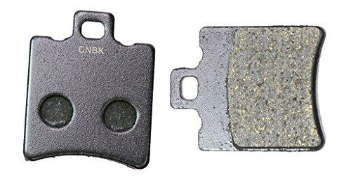CNBK Rear Brake Shoe Pads Semi Metallic for MOTO-MORINI Street Bike 350 Kanguro 88up 1988up 1 Pair2 Pads