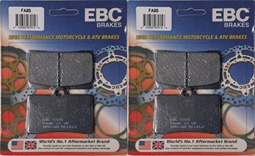 EBC Brake Pad Kit FA95 for Laverda 668 DiamanteGhostStrike 1996-1998