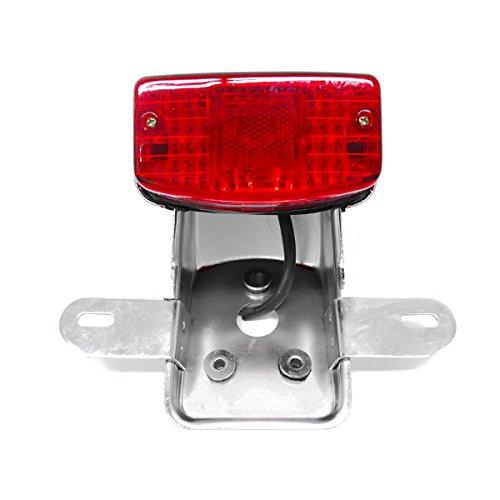 Krator NEW Custom Taillight Brake Rear Tail Light Lamp For Yamaha V-Star 1100 1300 Classic Stryker Silverado