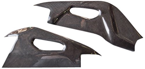LighTech CARA3060 Polished Carbon Swing Arm Protector