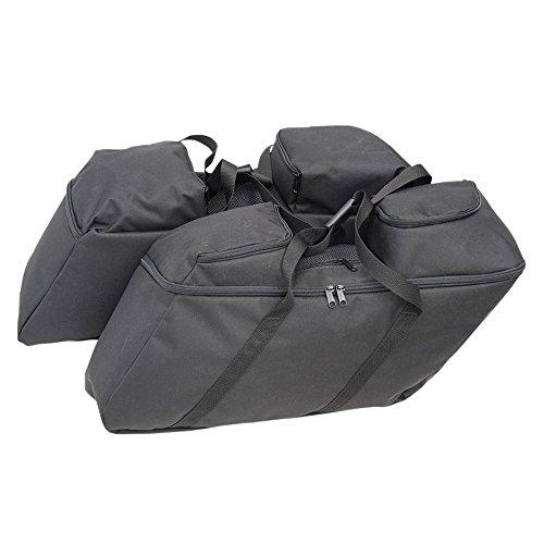 Hill Country Customs Hard Saddlebag Luggage Liner Set for 2014 Newer Harley Davidson Touring models - HC-01-0942
