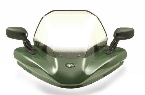VIP-AIR 1106 Kawasaki Brute Force 750 Hunter Green windshield