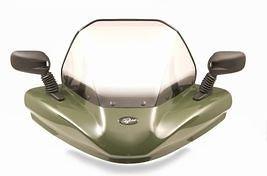 VIP-AIR 1768 Honda Rincon 680 Olive-Green windshield