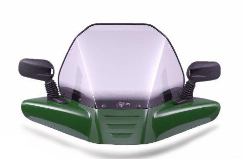 VIP-AIR 2037 Kawasaki Prairie KVF 360 Woodsman Green windshield