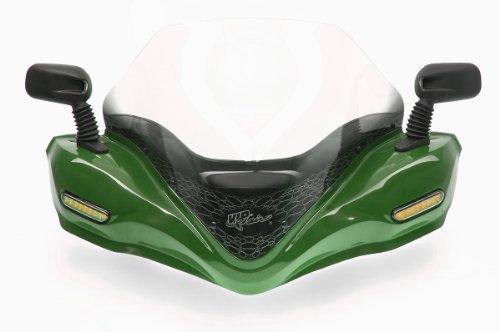VIP-AIR 2499 Kawasaki Brute Force 750 Hunter Green windshield