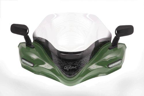 VIP-AIR 2564 Kawasaki Brute Force 750 Woodsman Green windshield