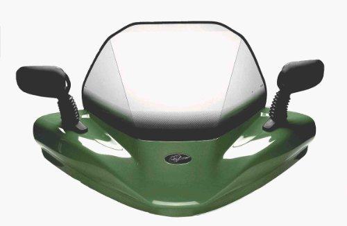 VIP-AIR 2843 Kawasaki Brute Force 750 Woodsman Green windshield
