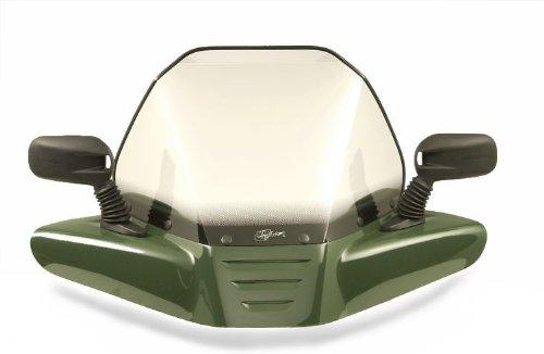 VIP-AIR 2895 Yamaha Grizzly 700 Dark Green windshield