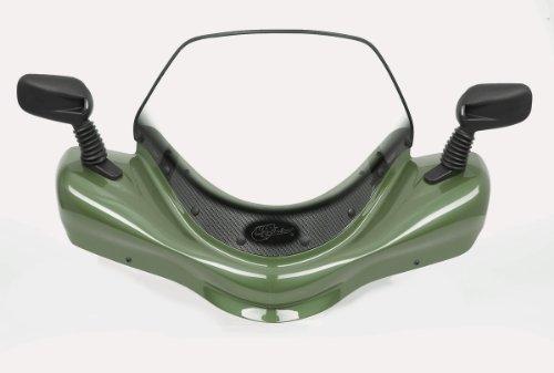 VIP-AIR 3489 Suzuki King Quad 500 Green windshield