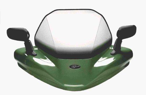 VIP-AIR 3577 Yamaha Grizzly 550 Dark Green windshield