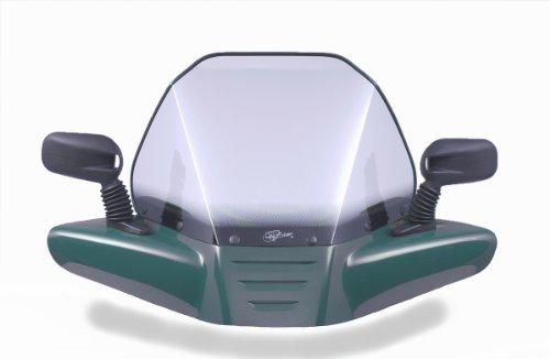 VIP-AIR 650 Yamaha Kodiak Green windshield
