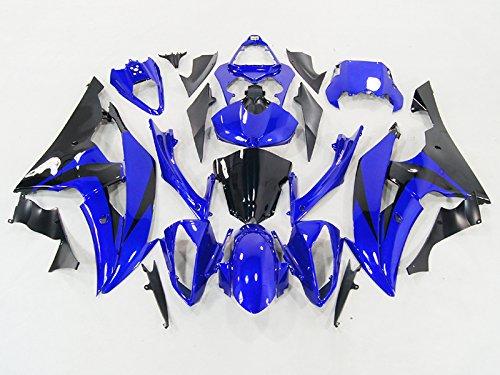 Moto Onfire ABS Injection Blue Plastic Fairing Kit Fit For Yamaha R600 YZF R6 Fairings 2008 2009 2010 2011 2012 2013 2014 2015 2016 R6 Fairing Kit 2012