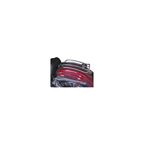 Motherwell Chrome Solo Luggage Racks For 2004-2012 Harley Davidson Xl Models