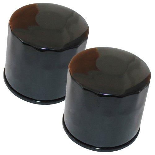 Caltric Oil Filter Fits SUZUKI 650 SV650 BURGMAN SV-650 V-STORM GSX650F SV650SF SFV650 GLADIUS 2-PACK