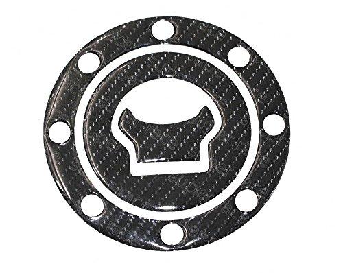 Decal Story 3D Real Carbon Fiber Emblem Gas Cap Cover Sticker Decal Raise Up Polish Gloss For Suzuki GSX1300R Hayabusa 1999-2007 SV650 1999-2002 GSF1200Bandit 1200 2004