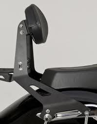 Yamaha 27D-F84A0-N1-00 Midnight Tall Quick-Release Passenger Backrest
