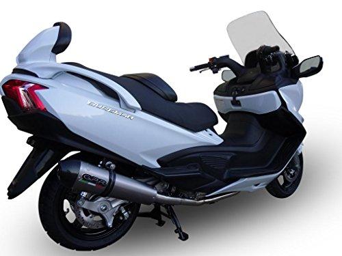 Suzuki Burgman 650 2013-2014 GPR Exhaust Full System Road Legal With GPE Ti Muffler