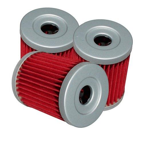 Caltric Oil Filter Fits Fits SUZUKI AN400 AN-400 AN400S AN-400S BURGMAN 400 1999-2006 3-PACK