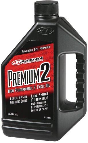 Maxima 21901 Premium 2 Smokeless 2-Stroke PremixInjector Oil - 1 Liter