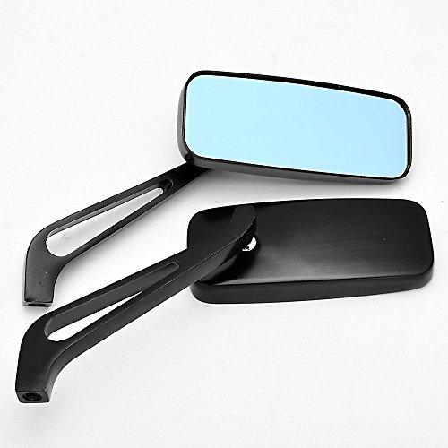 BADASS SHARKS New Black 10mm thread Bolts Motorcycle Mirrors For Suzuki GS500 GSX-R600 GSX-R750 GSX-R1000 TL1000 SV650 Hayabusa Intruder GSX1300R Hayabusa DL650 V-Strom 650 DL1000 V-Strom