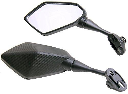 One Pair Carbon Fiber look Sport Bike Mirrors for 2009 Honda CBR600RR