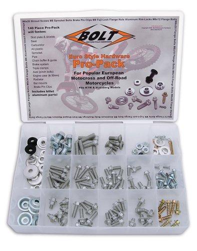 Bolt Motorcycle Hardware 2004-EUPP Euro Style Pro Bolt Pack
